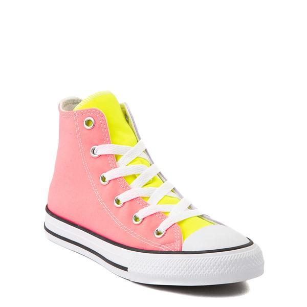 alternate view Converse Chuck Taylor All Star Hi Sneaker - Little Kid - Neon Color-BlockALT5