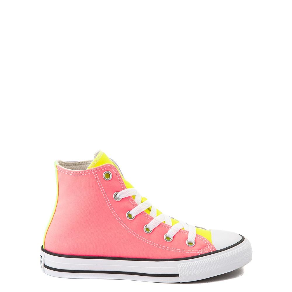 Converse Chuck Taylor All Star Hi Sneaker - Little Kid - Neon Color-Block
