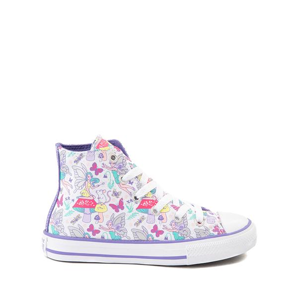 Converse Chuck Taylor All Star Hi Sneaker - Little Kid / Big Kid - White / Fairies