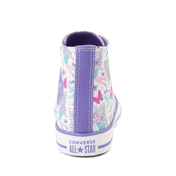alternate view Converse Chuck Taylor All Star Hi Sneaker - Little Kid / Big Kid - White / FairiesALT4