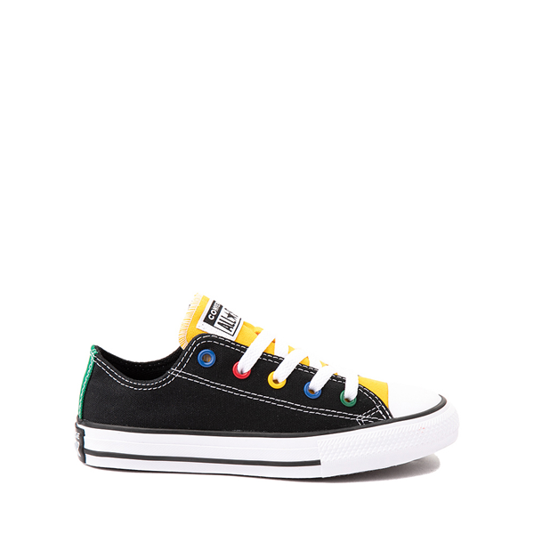 Converse Chuck Taylor All Star Lo Sneaker - Little Kid - Black / Multicolor