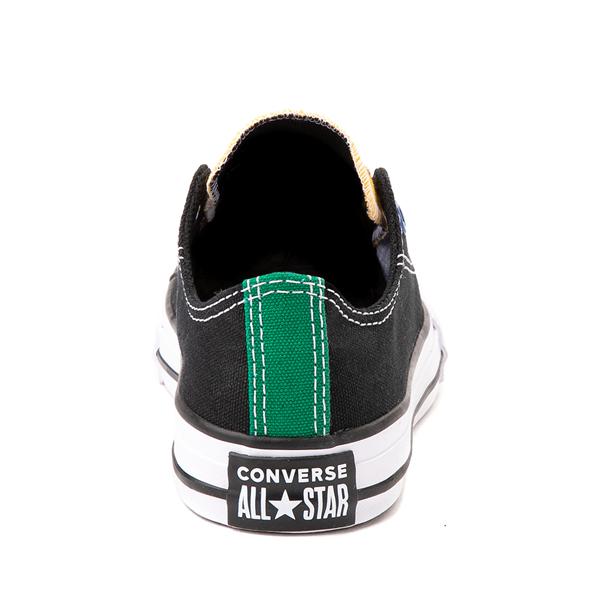 alternate view Converse Chuck Taylor All Star Lo Sneaker - Little Kid - Black / MulticolorALT4