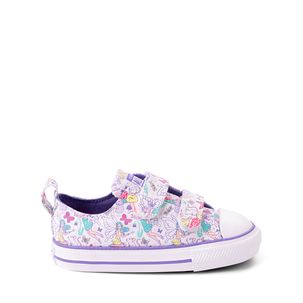 Converse Chuck Taylor All Star 2V Lo Sneaker - Baby / Toddler - White / Fairies
