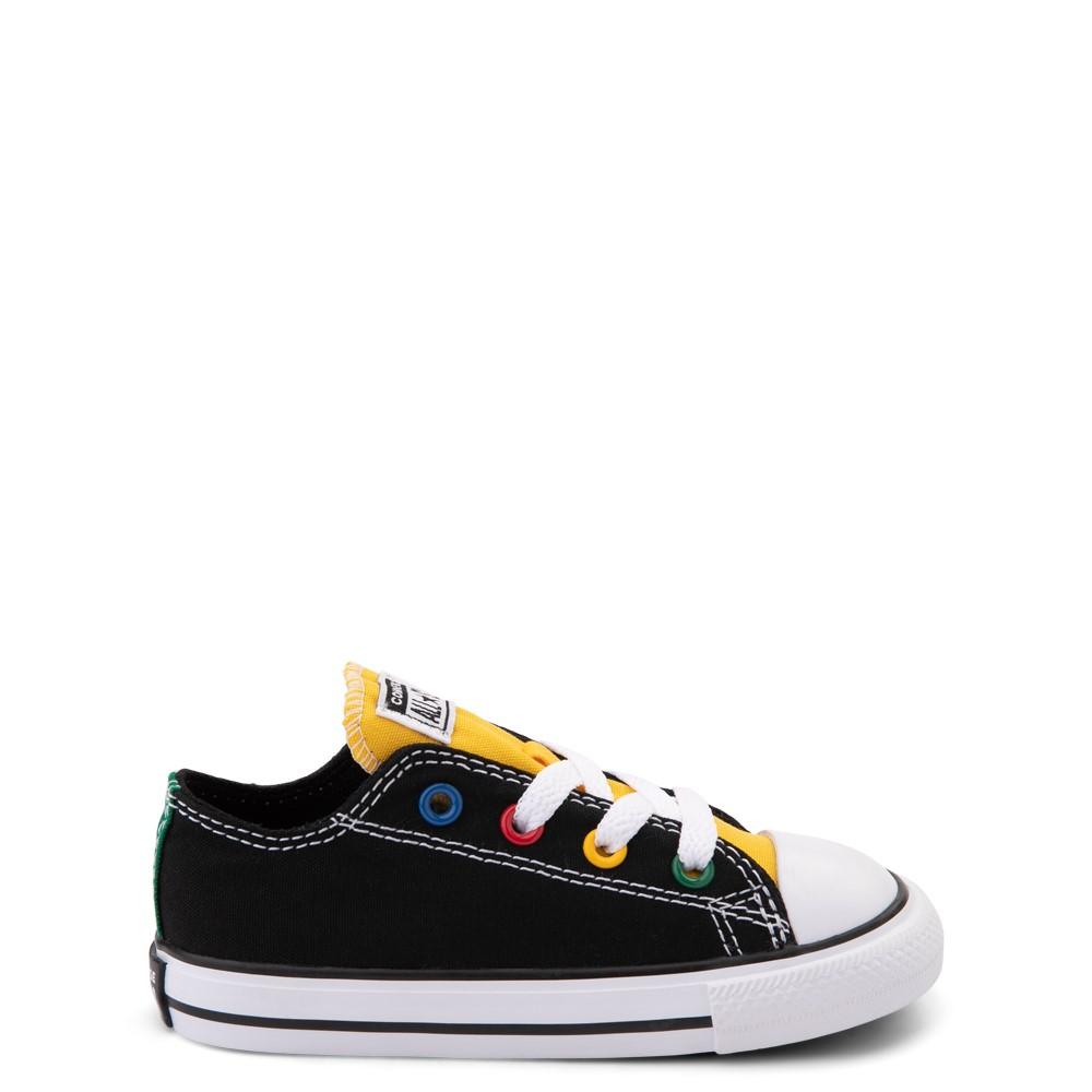 Converse Chuck Taylor All Star Lo Sneaker - Baby / Toddler - Black / Multicolor
