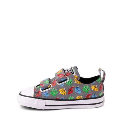 Alternate view of Converse Chuck Taylor All Star 2V Lo Dinos Sneaker - Baby / Toddler - Gray