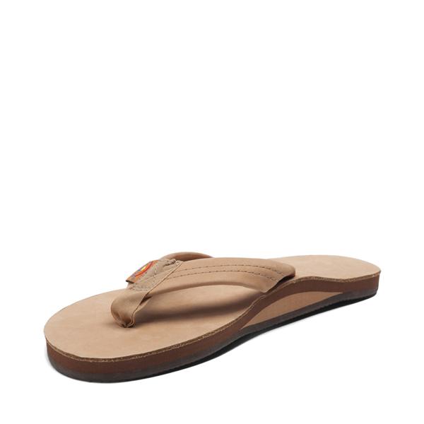 alternate view Mens Rainbow 301 Leather Sandal - Sierra BrownALT2