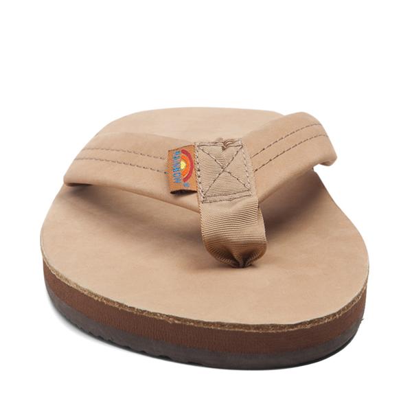 alternate view Mens Rainbow 301 Leather Sandal - Sierra BrownALT4