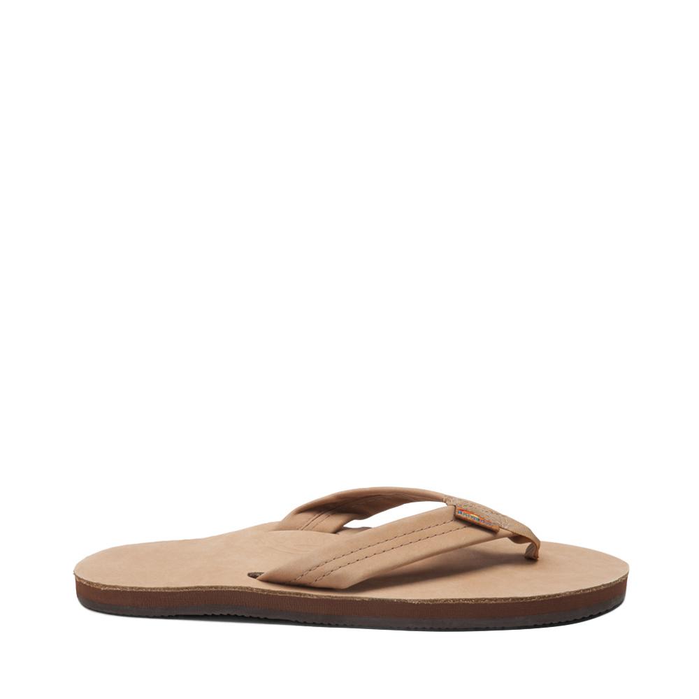 Mens Rainbow 301 Leather Sandal - Sierra Brown