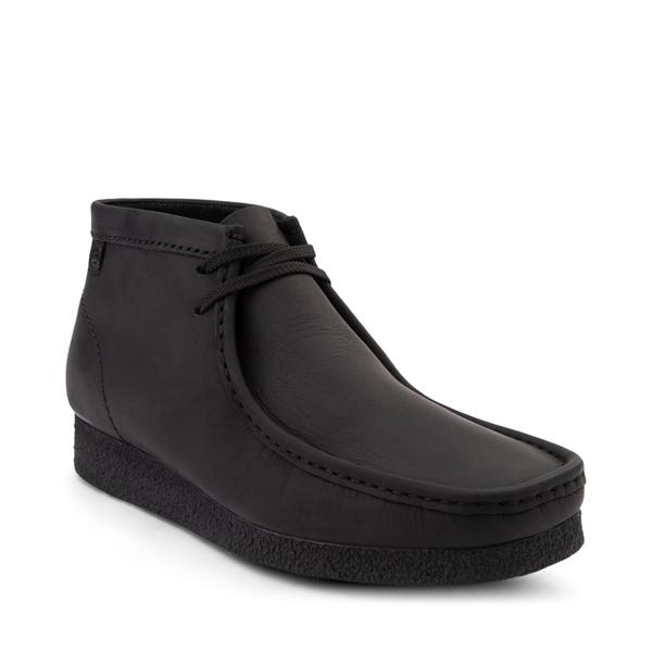 alternate view Mens Clarks Shacre Chukka Boot - BlackALT5