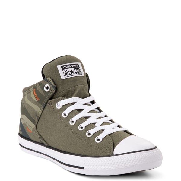 alternate view Converse Chuck Taylor All Star High Street Sneaker - Camo / OliveALT5