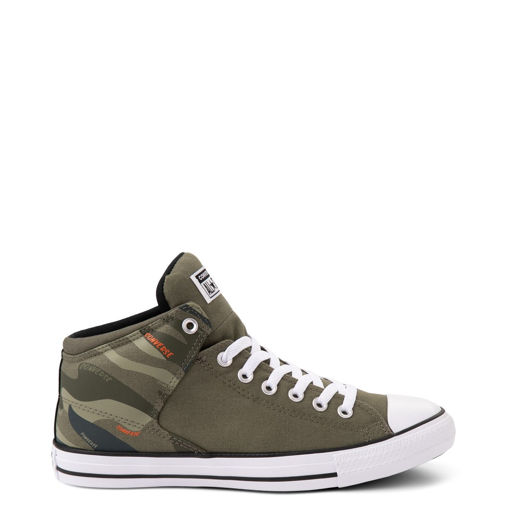Converse Chuck Taylor All Star High Street Sneaker - Camo / Olive