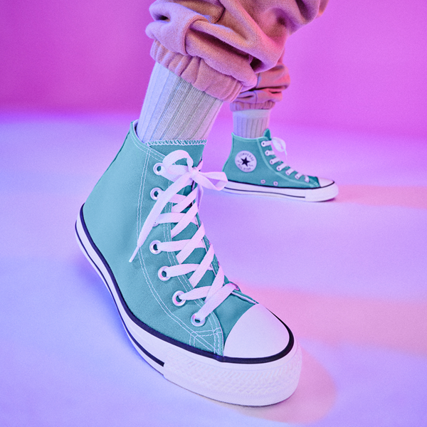 alternate view Converse Chuck Taylor All Star Hi Sneaker - Electric AquaALT1B