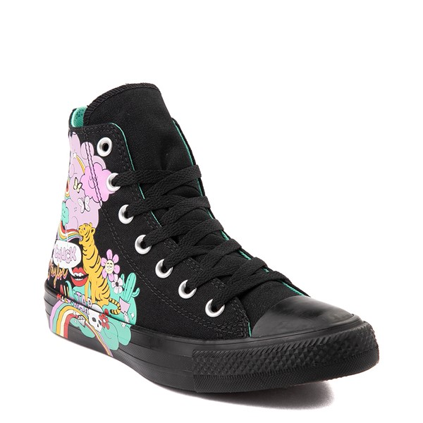 alternate view Converse Chuck Taylor All Star Hi Notebook Sneaker - BlackALT5