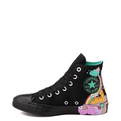 Alternate view of Converse Chuck Taylor All Star Hi Notebook Sneaker - Black