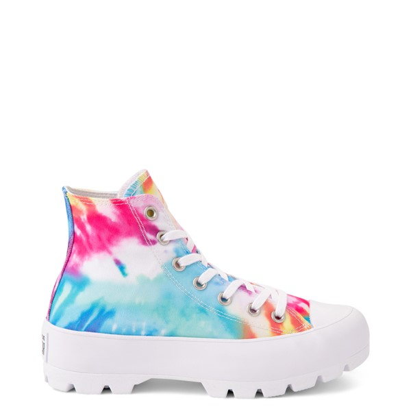 Womens Converse Chuck Taylor All Star Hi Lugged Sneaker - Tie Dye