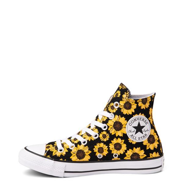 alternate view Converse Chuck Taylor All Star Hi Sunflower Sneaker - BlackALT1