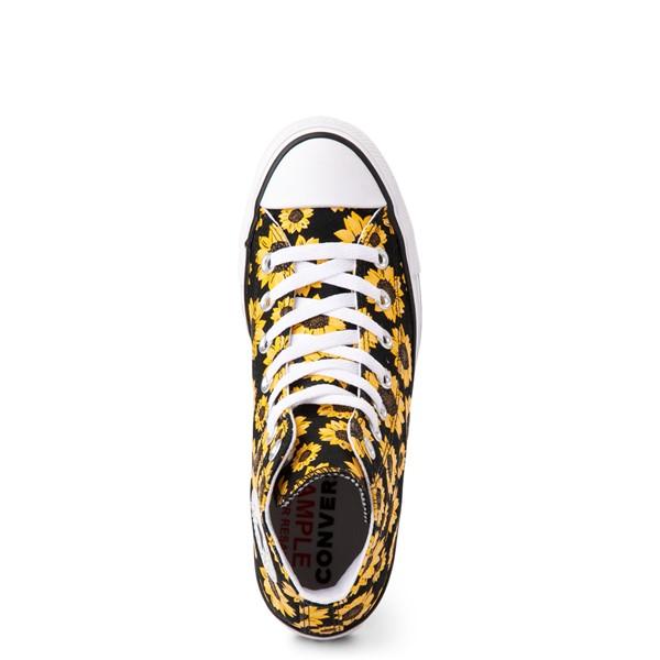 alternate view Converse Chuck Taylor All Star Hi Sunflower Sneaker - BlackALT2