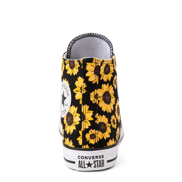 alternate view Converse Chuck Taylor All Star Hi Sunflower Sneaker - BlackALT4