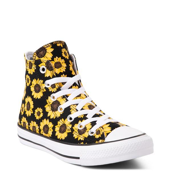 alternate view Converse Chuck Taylor All Star Hi Sunflower Sneaker - BlackALT5