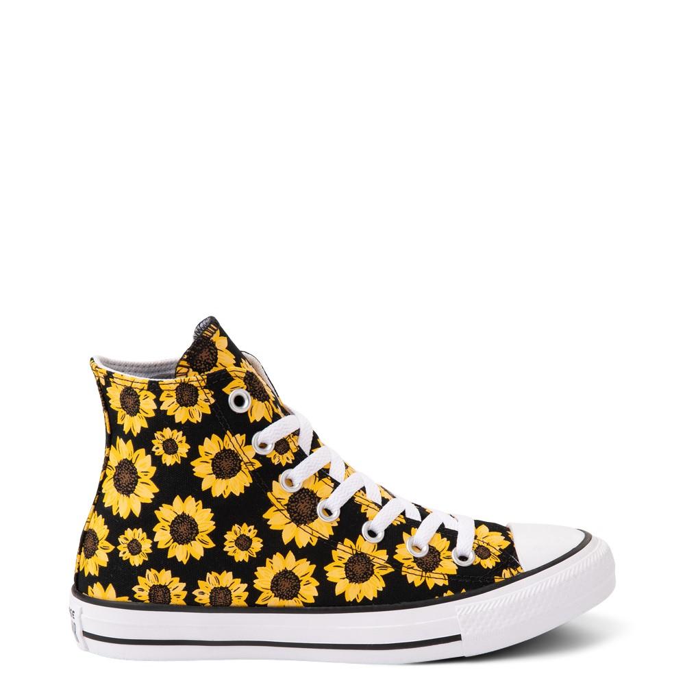 Converse Chuck Taylor All Star Hi Sunflower Sneaker - Black