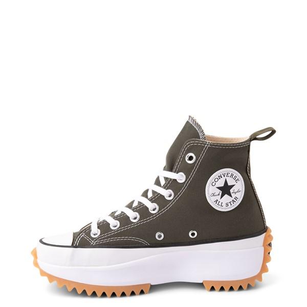 alternate view Converse Run Star Hike Recycled Platform Sneaker - Cargo KhakiALT1