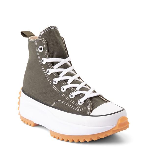 alternate view Converse Run Star Hike Recycled Platform Sneaker - Cargo KhakiALT5