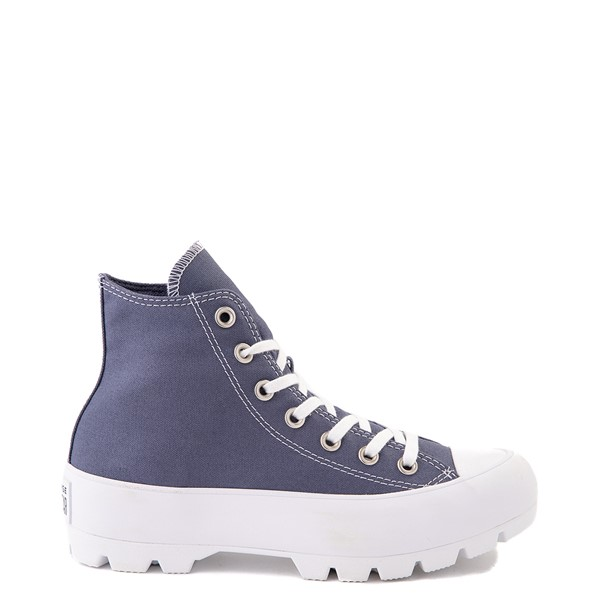 Main view of Womens Converse Chuck Taylor All Star Hi Lugged Sneaker - Steel