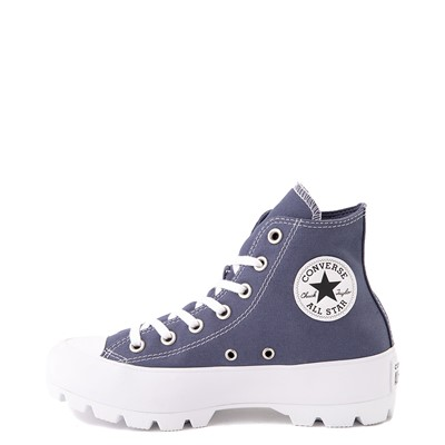 Alternate view of Womens Converse Chuck Taylor All Star Hi Lugged Sneaker - Steel