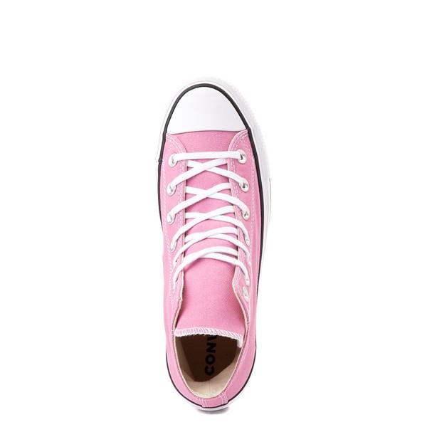 alternate view Womens Converse Chuck Taylor All Star Lift Hi Sneaker - Magic FlamingoALT2