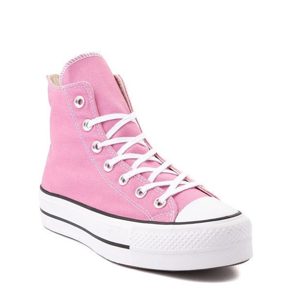 alternate view Womens Converse Chuck Taylor All Star Lift Hi Sneaker - Magic FlamingoALT5