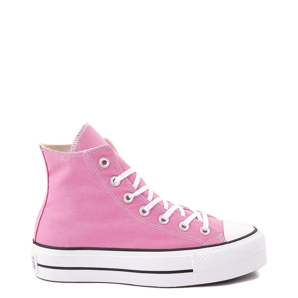 Womens Converse Chuck Taylor All Star Lift Hi Sneaker - Magic Flamingo