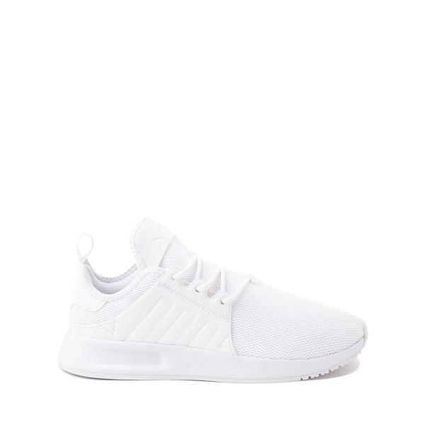 adidas X_PLR Athletic Shoe - Little Kid - White Monochrome