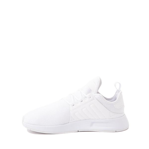 alternate view adidas X_PLR Athletic Shoe - Little Kid - White MonochromeALT1