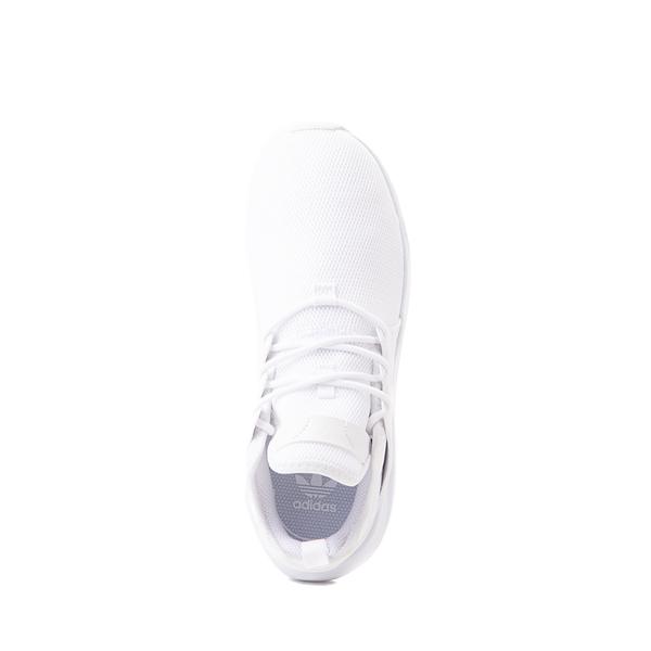 alternate view adidas X_PLR Athletic Shoe - Little Kid - White MonochromeALT2