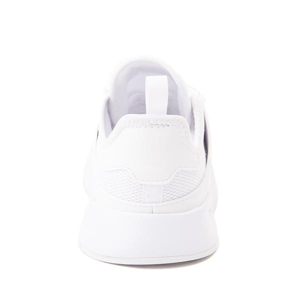 alternate view adidas X_PLR Athletic Shoe - Little Kid - White MonochromeALT4