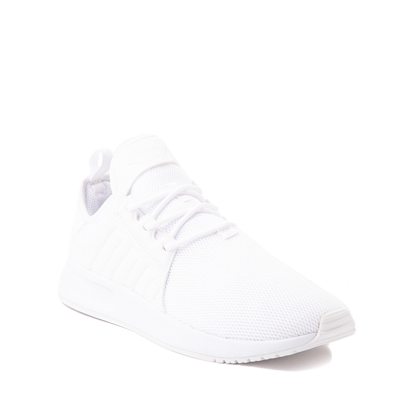 alternate view adidas X_PLR Athletic Shoe - Little Kid - White MonochromeALT5
