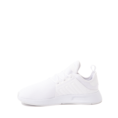 Alternate view of adidas X_PLR Athletic Shoe - Little Kid - White Monochrome