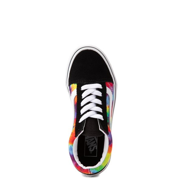 alternate view Vans Old Skool Skate Shoe - Big Kid - Black / Tie DyeALT2