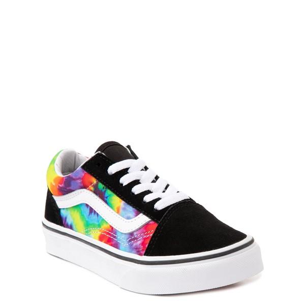 alternate view Vans Old Skool Skate Shoe - Big Kid - Black / Tie DyeALT5
