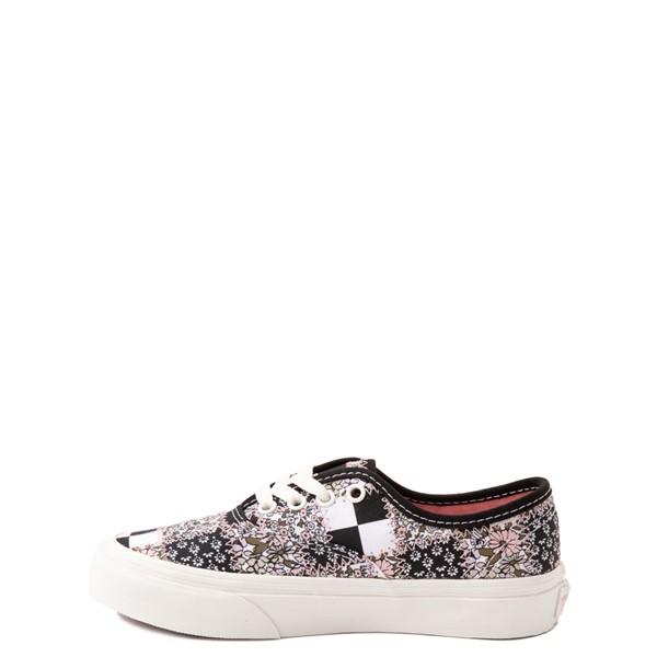alternate view Vans Authentic Patchwork Floral Skate Shoe - Little Kid - Multicolor / MarshmallowALT1