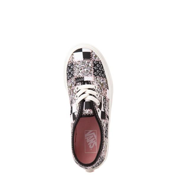 alternate view Vans Authentic Patchwork Floral Skate Shoe - Little Kid - Multicolor / MarshmallowALT2