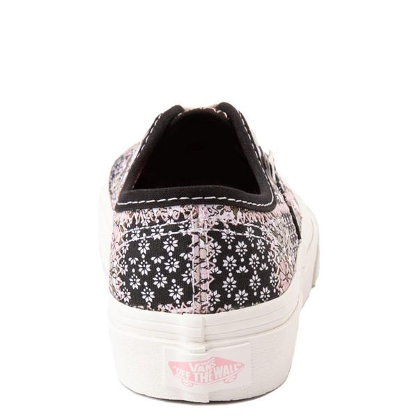 alternate view Vans Authentic Patchwork Floral Skate Shoe - Little Kid - Multicolor / MarshmallowALT4