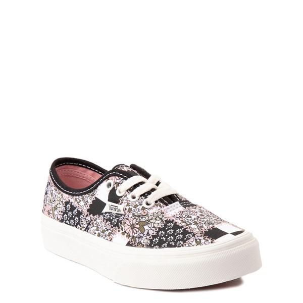 alternate view Vans Authentic Patchwork Floral Skate Shoe - Little Kid - Multicolor / MarshmallowALT5