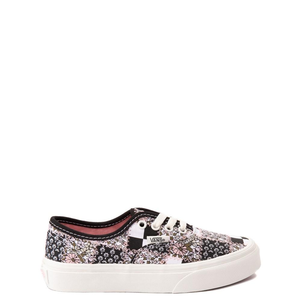 Vans Authentic Patchwork Floral Skate Shoe - Little Kid - Multicolor / Marshmallow
