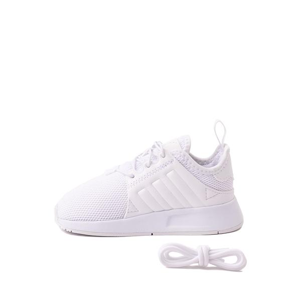 alternate view adidas X_PLR Athletic Shoe - Baby / Toddler - White MonochromeALT1
