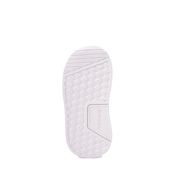 alternate view adidas X_PLR Athletic Shoe - Baby / Toddler - White MonochromeALT3