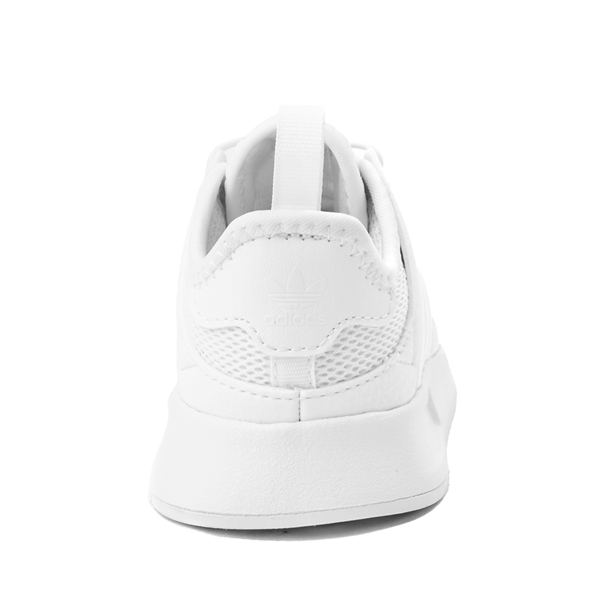 alternate view adidas X_PLR Athletic Shoe - Baby / Toddler - White MonochromeALT4