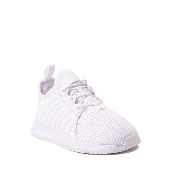 alternate view adidas X_PLR Athletic Shoe - Baby / Toddler - White MonochromeALT5