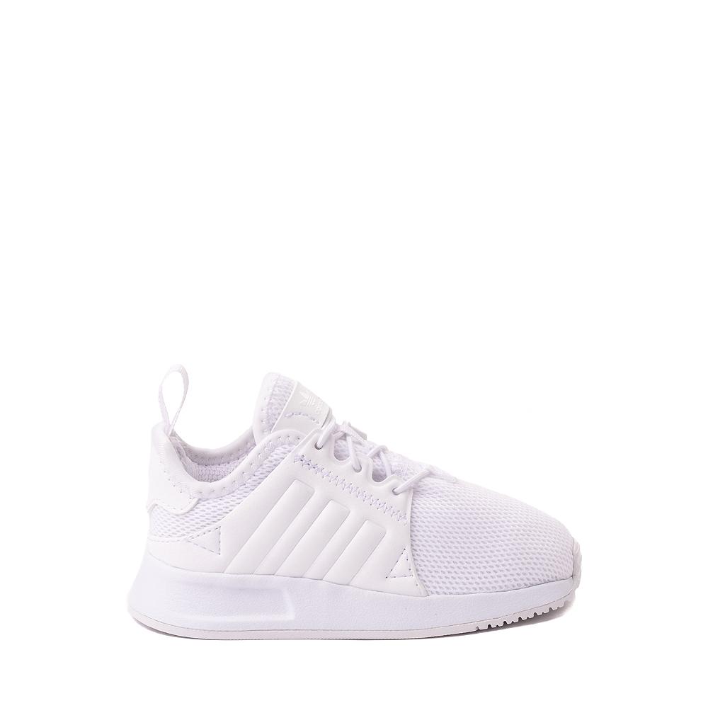 adidas X_PLR Athletic Shoe - Baby / Toddler - White Monochrome