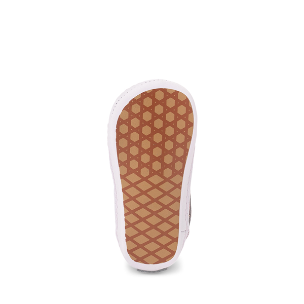 alternate view Vans Old Skool Glitter Skate Shoe - Baby - Orchid Ice / Powder PinkALT3